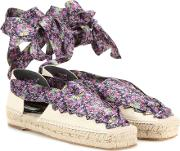 Balenciaga , Lace Up Canvas Espadrilles