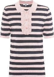 Ganni , Romilly Striped Top
