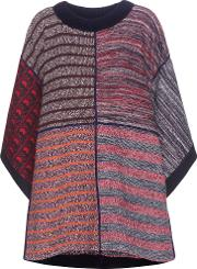 See By Chloe , Patchwork Poncho