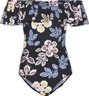 Tory Burch , Bay Off The Shoulder Swimsuit