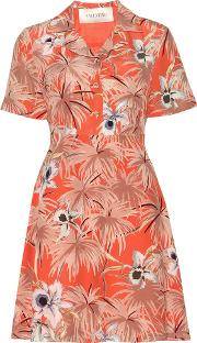 Valentino , Mytheresa.com Online Exclusive Printed Silk Dress
