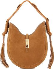 Altuzarra , Ghianda Bullrope Hobo Small Suede Shoulder Bag
