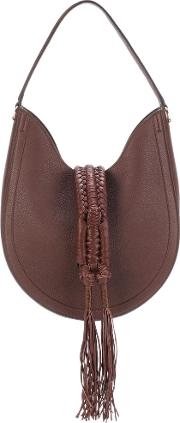 Altuzarra , Ghianda Knot Hobo Leather Shoulder Bag
