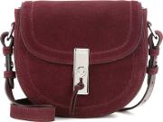 Altuzarra , Ghianda Saddle Mini Suede Crossbody Bag