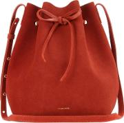Mansur Gavriel , Bucket Suede Crossbody Bag
