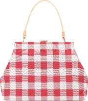 Mansur Gavriel , Checked Canvas Handbag