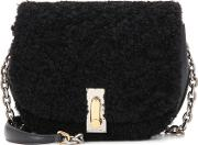 Marc Jacobs , Shearling And Leather Shoulder Bag