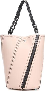 Proenza Schouler , Hex Medium Leather Bucket Bag
