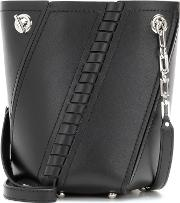 Proenza Schouler , Mini Hex Leather Bucket Bag