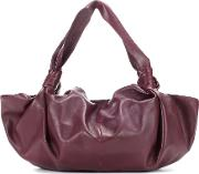 The Row , The Ascot Leather Shoulder Bag