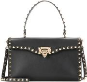 Valentino , Garavani Rockstud Leather Shoulder Bag