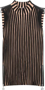 Edun , Ribbed Merino Wool Blend Top