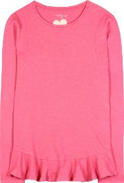 81hours , Nella Long Sleeve Cotton Top