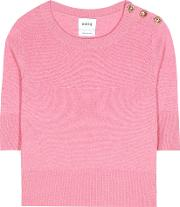 Barrie , Cashmere Cropped Top