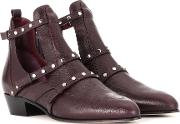 Jimmy Choo , Harley 30 Leather Cut Out Boots