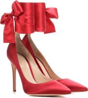 Gianvito Rossi , Satin Pumps