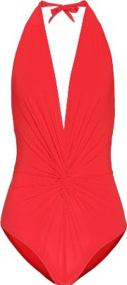Karla Colletto , Halter Swimsuit
