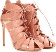 Francesco Russo , Cut Out Leather Ankle Boots
