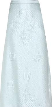 Hillier Bartley , Mono Jacquard Midi Skirt