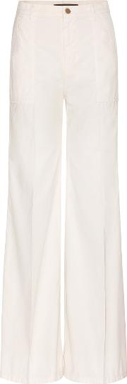 J Brand For Mytheresacom , Mytheresa.com Exclusive Eryn Wide Leg Cotton Trousers