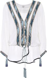 Talitha , Embroidered Top