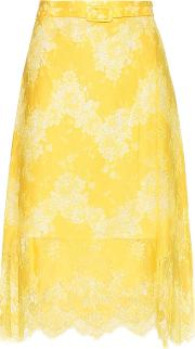 Carven , Lace Skirt