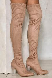 Nasty Gal , Steer Clear Over The Knee Boot