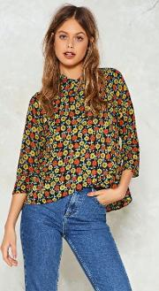 Nasty Gal , All Sun And Games High Neck Blouse