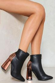 Nasty Gal , Better Half Vegan Leather Bootie