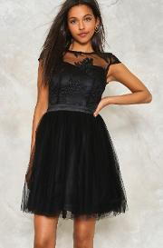 Nasty Gal , Tulle Intentions Lace Dress