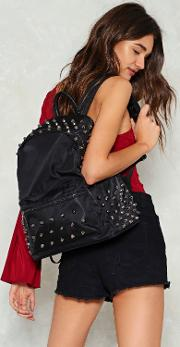 Nasty Gal , Want Stepping Stone Studded Backpack