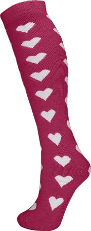 Manbi , 14 Quot Patterned Tube Socks