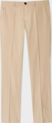 Paul Smith , Men's Slim Fit Aran Lightweight Cotton Chinos
