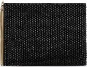 Cindy Embellish Beaded Clutch Bag In  Womens