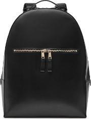 Reiss , Lexington Leather Backpack In  Mens