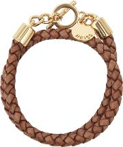 Toucan Leather And Metal Bracelet In  Womens