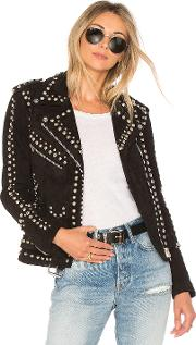 Understated Leather , Easy Rider Studded Jacket