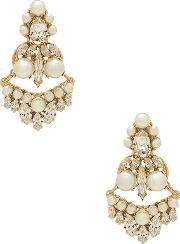 Anton Heunis , Amazonia Pearl And Crystal Earring