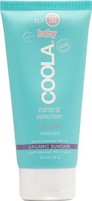 Coola , Mineral Baby Spf 50 Unscented Lotion