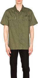 Mission Military Button Down