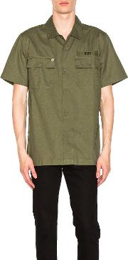 Obey , Mission Military Button Down