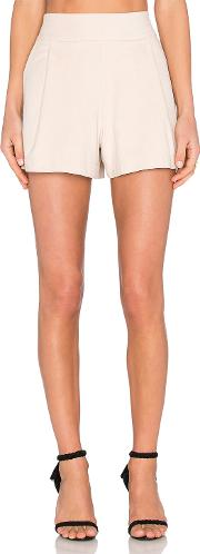1 State , Flat Front Suede Short