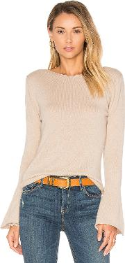 Central Park West , Vienna Cashmere Bell Sleeve Sweater