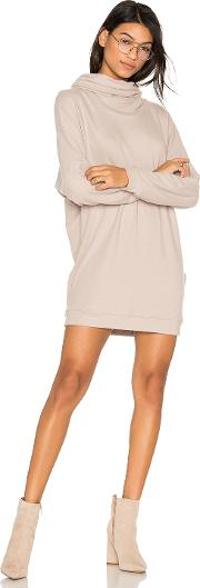 Michael Lauren , Vargus Draped Turtleneck Dress