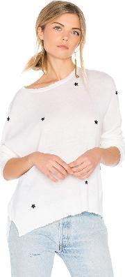 Sundry , Star Patches Cashmere Pullover