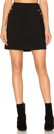 1 State , A Line Button Skirt