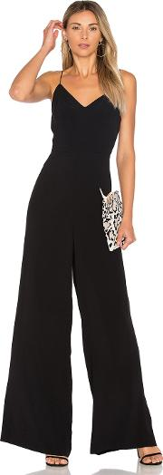 1 State , Lace Up Back Jumpsuit