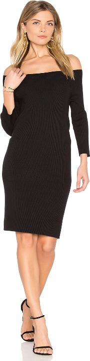525 America , Off Shoulder Sweater Dress