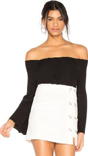 525 America , Off Shoulder Sweater