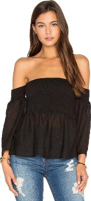 Auguste , Plain And Simple Ruched Top